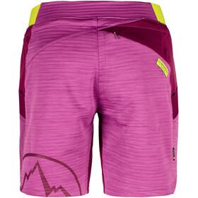 La Sportiva W's Circuit Shorts Purple/Plum